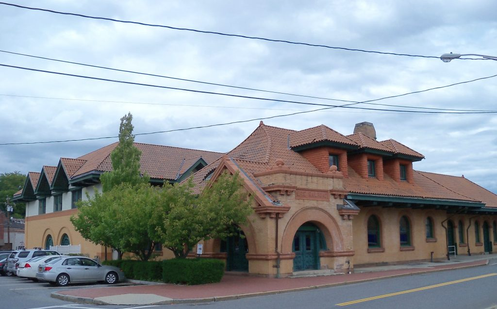 erie railroad depot in Middletown, new york