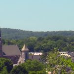 skyline view of Middletown, New York